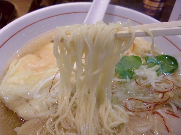 くろおび@大門・20160301・麺