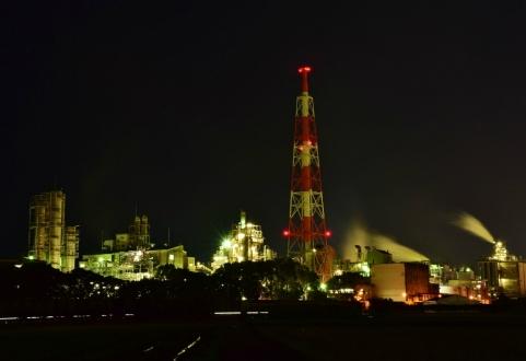s延岡工場夜景 (3)