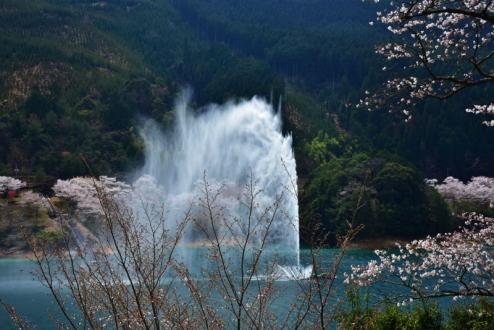 水のカーテン (2)