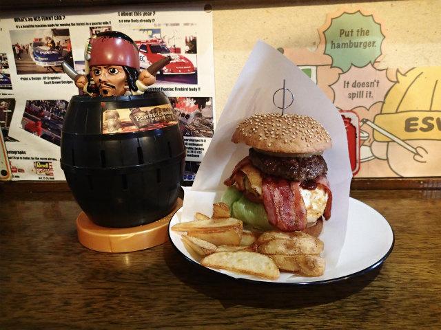 BigSmileにてハンバーガー