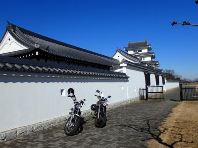関宿城&バイク