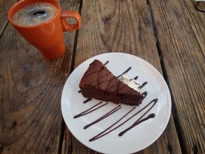 珈琲ケーキセット。