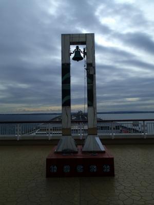 海ほたるPAの鐘