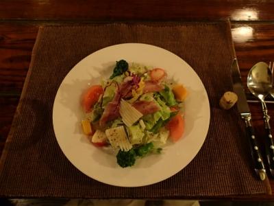 ディナー:サラダ
