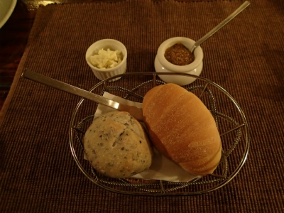 ディナー:パン