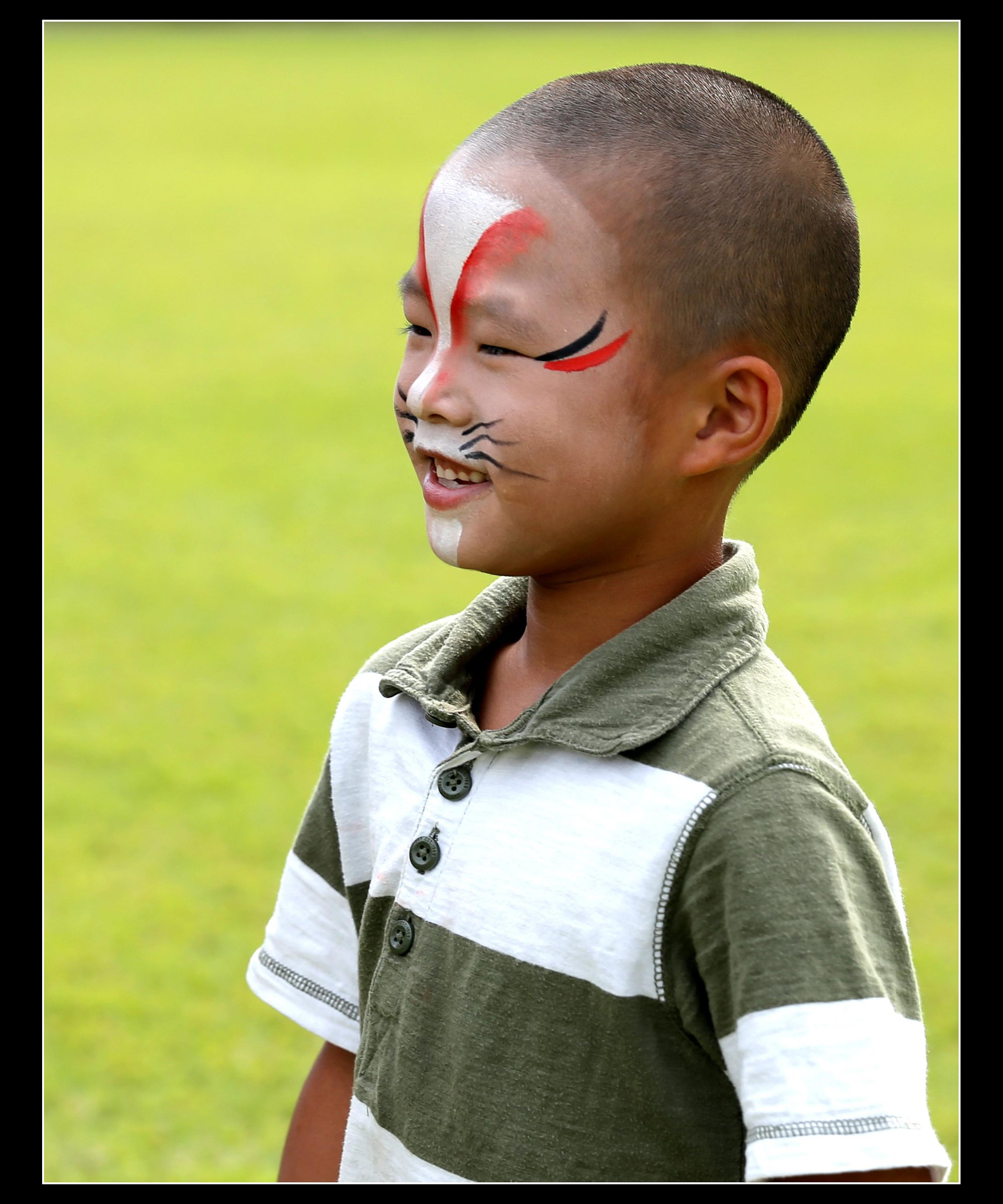15 大澤繁子 「祭りの少年」