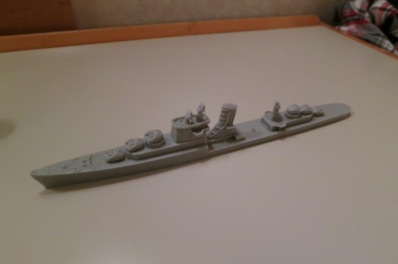 1/700 防空駆逐艦満月