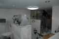 天井工事と新しい照明器具の取り付け!