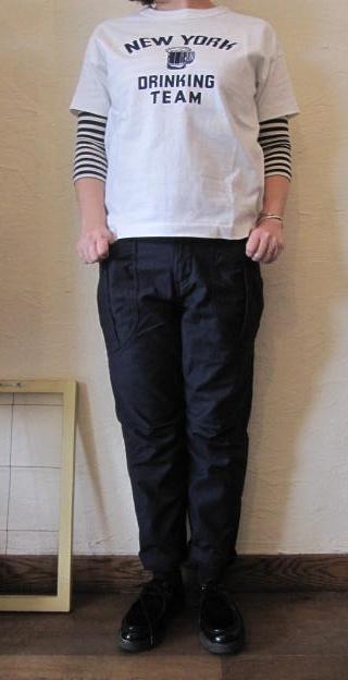 アボンタージTシャツ白
