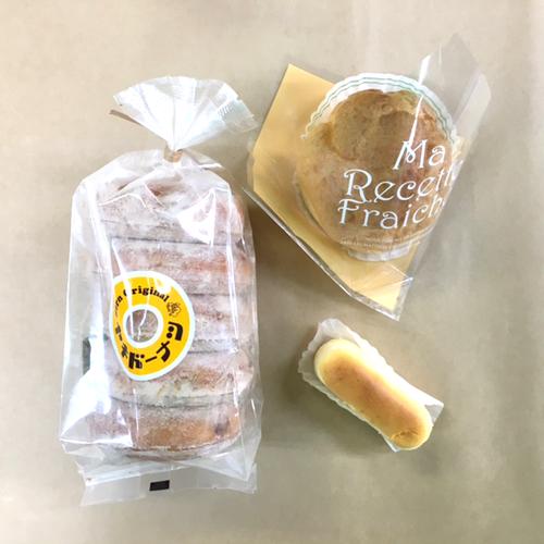 ベルン 焼きドーナツ シナモン味とシュークリームとハイチーズ