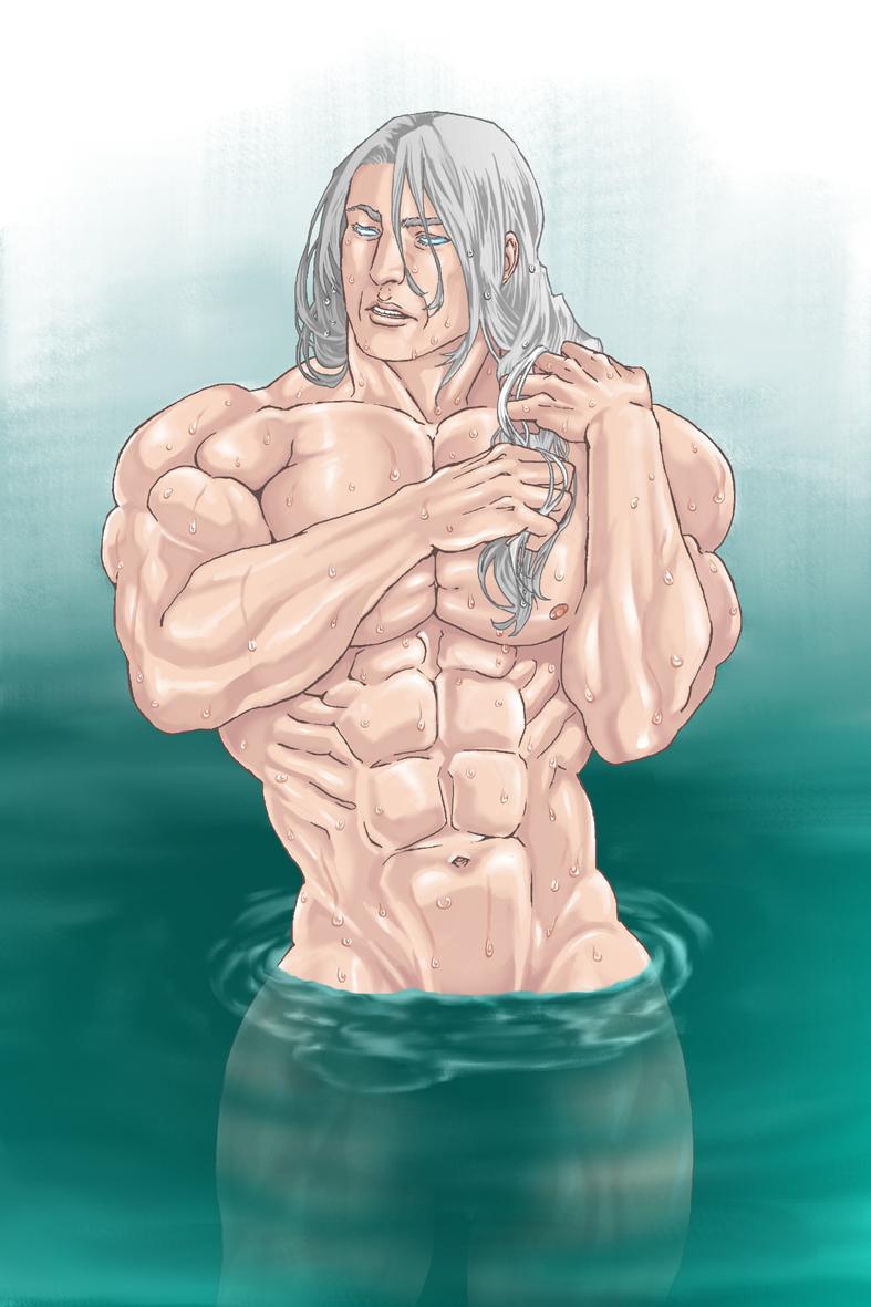 水浴びライデン