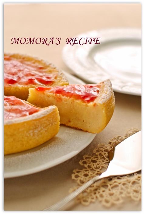 HM炊飯器苺ヨーグルトケーキ (1)