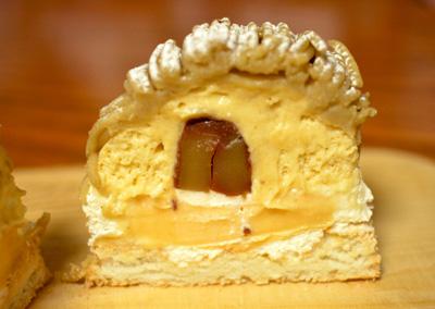 【ケーキ】リョーコ「和栗のモンブラン」 (1)