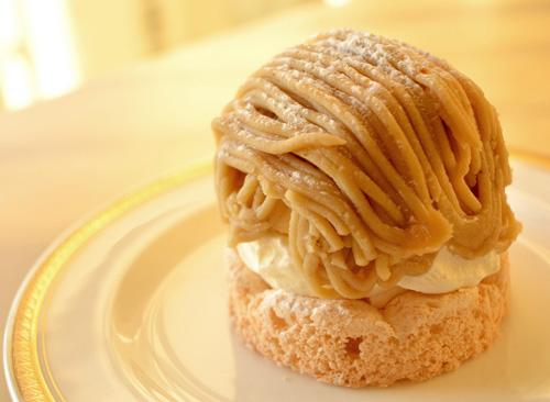 【ケーキ】リョーコ「和栗のモンブラン」 (2)