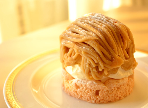 【ケーキ】リョーコ「和栗のモンブラン」 (3)