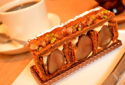 【ケーキ】ビヤンネートル「ミルフィーユオマロン」 (1)
