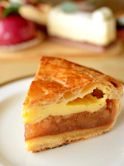 【ケーキ】ビヤンネートル「アップルカスタードパイ」 (1)