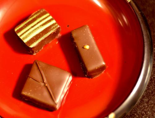 【ケーキ】ロント「ショコラ(そば・リンゴ・洋梨?)」 (2)