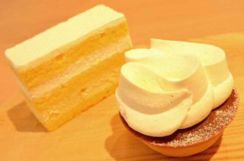 【ケーキ】ロトス洋菓子店「たまごのショートケーキ」 (1)