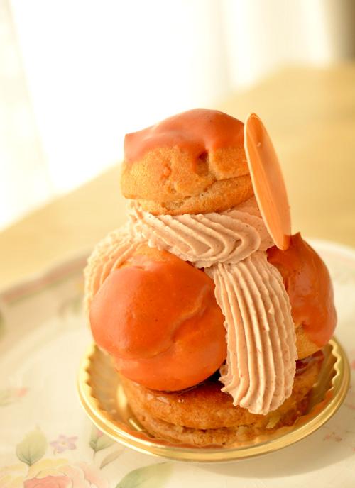 【ケーキ】エチエンヌ「サントノーレマロン」