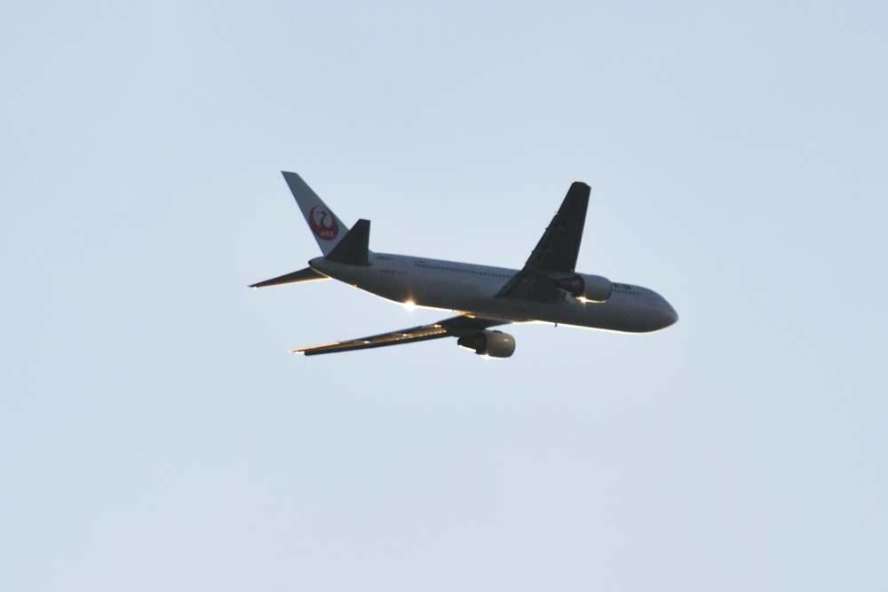飛行機光りDSC_3575