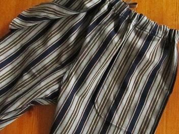 ポケット袋縫い。
