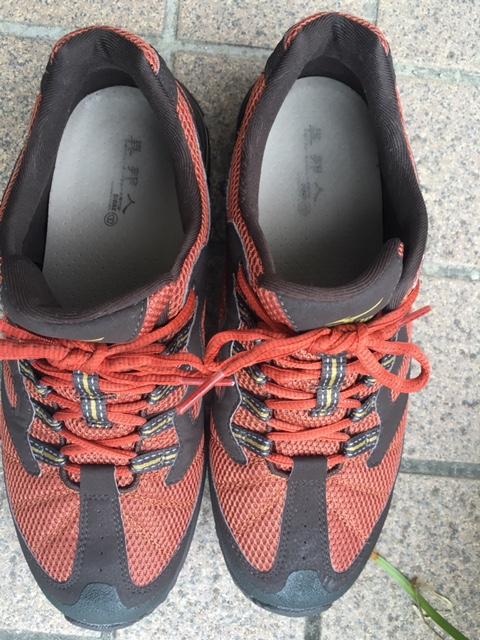 異邦人の靴