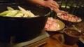 宮崎地鶏すき焼き1