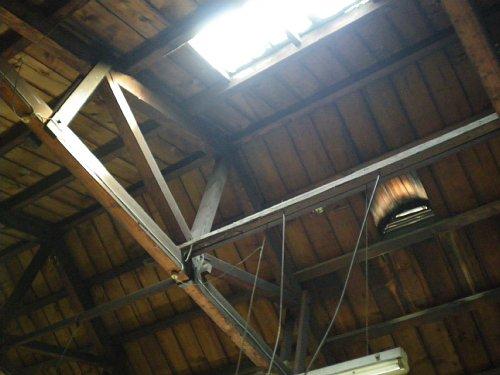 トチセン・サラン工場天井