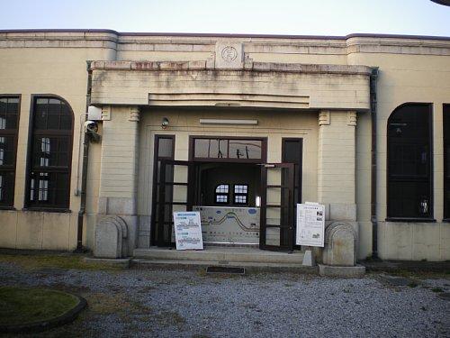 今福浄水場・ポンプ室