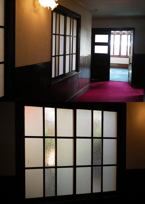 緑町配水場・旧管理事務所廊下