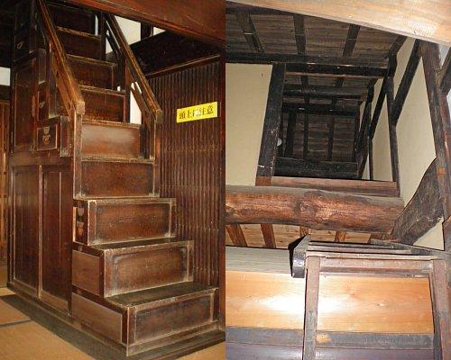 福田屋・主屋階段