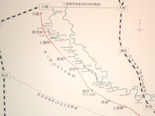 新河岸川パネル