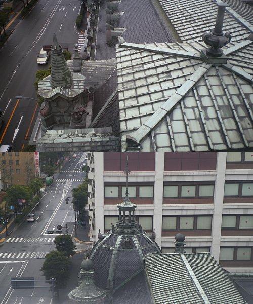 横浜市開港記念館・屋根1