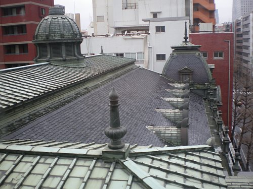 横浜市開港記念館・屋根2