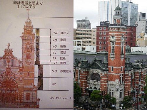 横浜市開港記念館・時計塔