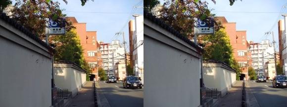 JR東西線 大阪城北詰駅(平行法)