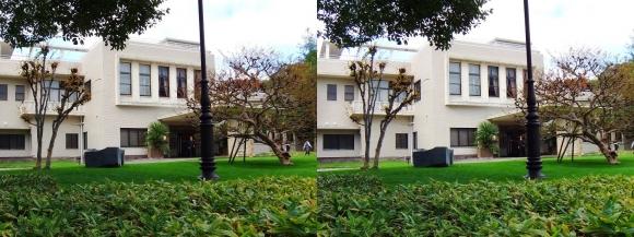 大阪市公館「ザ・ガーデンオリエンタル大阪」①(平行法)