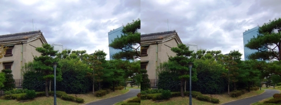 藤田邸跡公園④(交差法)