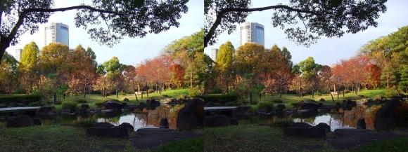 藤田邸跡公園②(交差法)