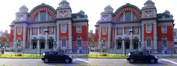 大阪市中央公会堂(交差法)