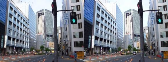 土佐堀通(平行法)