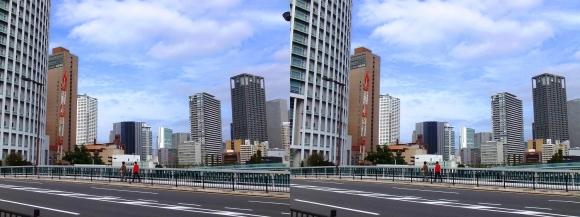 土佐堀橋②(平行法)