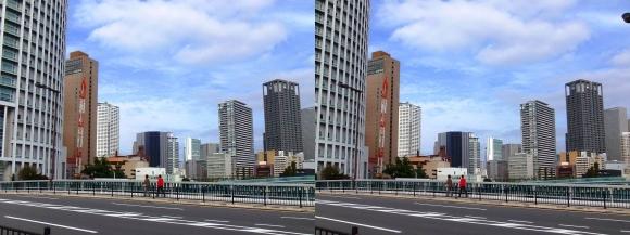 土佐堀橋②(交差法)