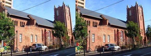 日本聖公会大阪主教座聖堂川口基督教会(交差法)