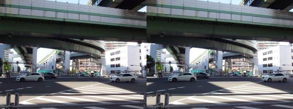 阿波座ジャンクション②(平行法)