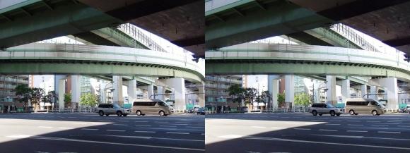 阿波座ジャンクション①(平行法)