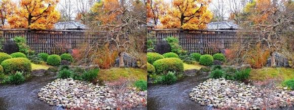 姫路城西屋敷公園 好古園 流れの平庭~夏木の庭~松の庭~花の庭③(平行法)