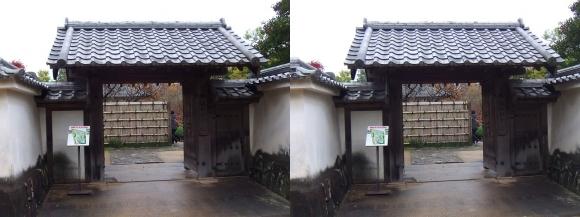 姫路城西屋敷公園 好古園 流れの平庭~夏木の庭~松の庭~花の庭①(平行法)
