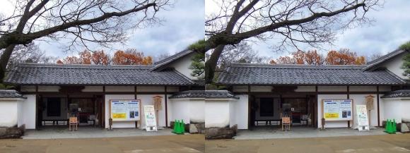 姫路城西屋敷公園 好古園 玄関(平行法)